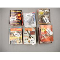 ASSORTED FIREARMS MAGAZINES & GUN PARTS