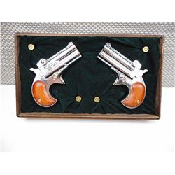 A PAIR OF DAVIS , MODEL: D32 , CALIBER: 32AUTO