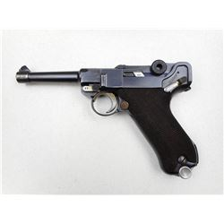 LUGER , MODEL: P08 DATED 1936 , CALIBER: 9MM