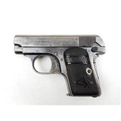COLT , MODEL: 1908 VEST POCKET HAMMERLESS , CALIBER: 25ACP