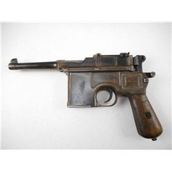 MAUSER , MODEL: C96 BROOMHANDLE BOLO , CALIBER: 7.63MM BLANK