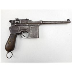 MAUSER , MODEL: C96 BROOMHANDLE  , CALIBER: 7.63MM MAUSER
