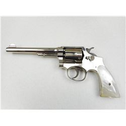 SMITH & WESSON , MODEL: HAND EJECTOR 38 MILITARY & POLICE MODEL 3 OF 1905  CHANGE 3 , CALIBER: 38 SP