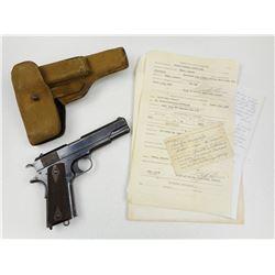 WWI ERA ISSUE, COLT  , MODEL: 1911 GOVERNMENT  , CALIBER: 45 AUTO