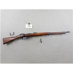 WWII ERA, CARCANO  , MODEL: 1941 RIFLE  , CALIBER: 6.5 X 52 CARCANO