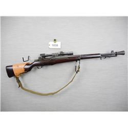 US RIFLE  , MODEL: M1 D GARAND SNIPER , CALIBER: 30-06 SPRG