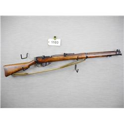 WWII ERA, LEE ENFIELD  , MODEL: NO1 MKIII ( MARKINGS REMOVED)  , CALIBER: 303 BR