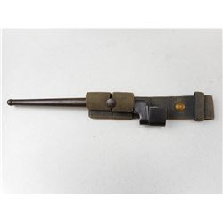 WWII CANADIAN SPIKE BAYONE WITH SCABBARD AND FROG