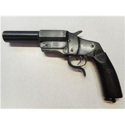 FLARE GUN, GERMAN MOD 1894 HEBEL, MAKER CHRISTIAN FUNK  , MODEL:  , CALIBER: N/A