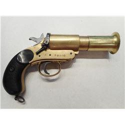 FLARE GUN, AUSTRIALIAN # 1 MKIII, MADE BY C.S.R. SYDNEY 1942 , MODEL:  , CALIBER: N/A