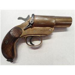 FLARE GUN, NO 1 MKIII MADE BY COGSWELL & HARRISON  , MODEL:  , CALIBER: N/A