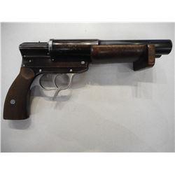 WWII ERA, GERMAN KRIEGS MARINE DOUBLE BARREL SIGNAL PISTOL  , MODEL:  , CALIBER: N/A