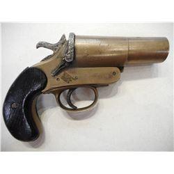 WWI ERA, FLARE GUN, WEBLEY SCOTT , MODEL:  , CALIBER: N/A