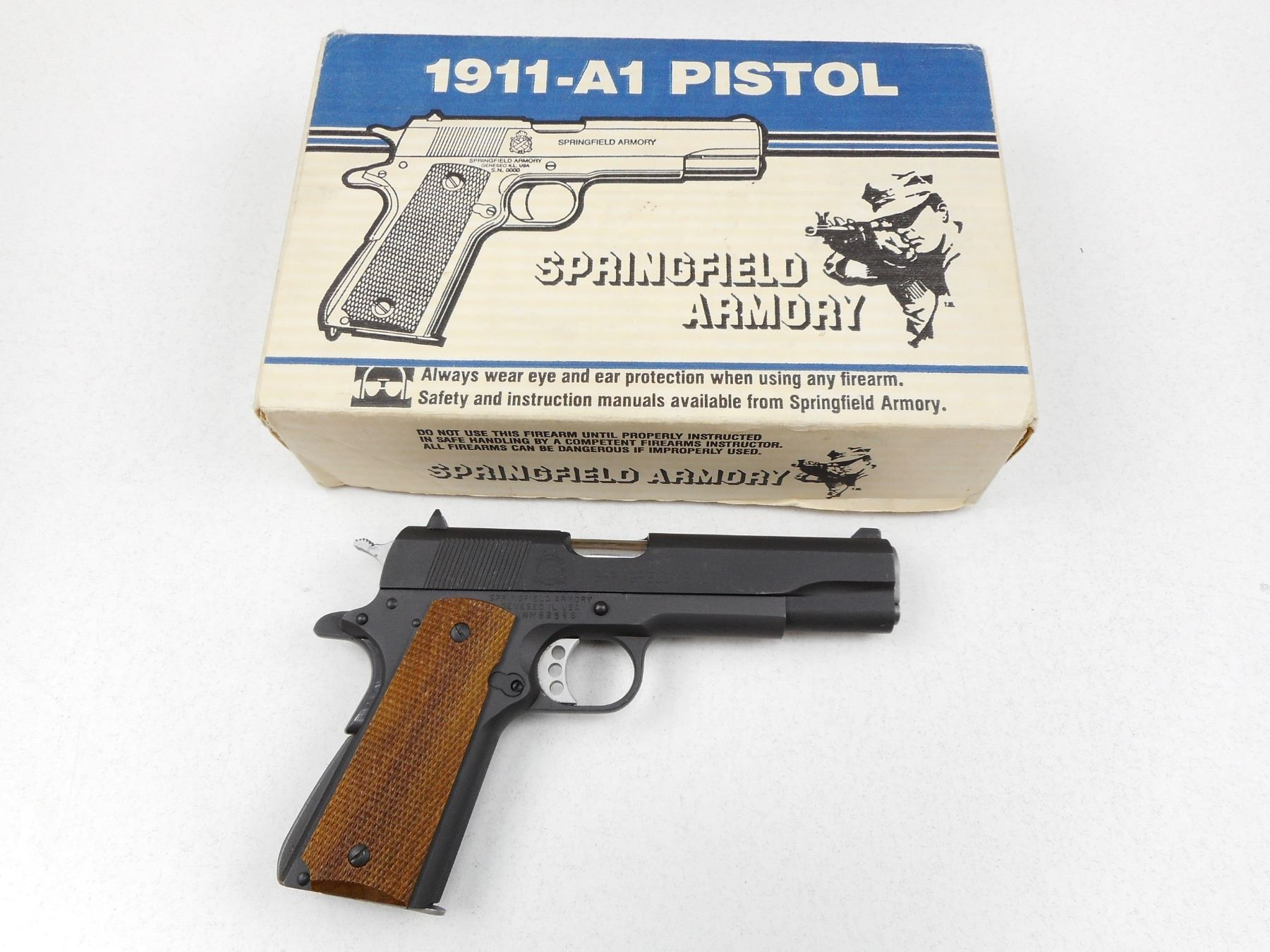 EARLY PRODUCTION NEW IN BOX SPRINGFIELD ARMORY , 1911-A1 DEFENDER , 45ACP