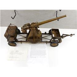 EDUCATIONAL BRITISH ANTI-AIRCRAFT GUN MODEL ON LORRY