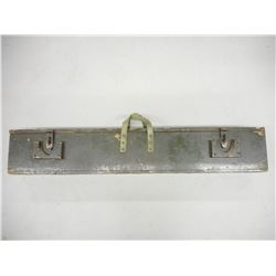 WOOD TRANSIT CASE FOR A LEE ENFIELD C-7
