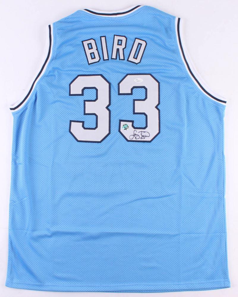 buy popular 3f4bc 610b9 Larry Bird Signed Indiana State Sycamore Jersey (JSA COA ...