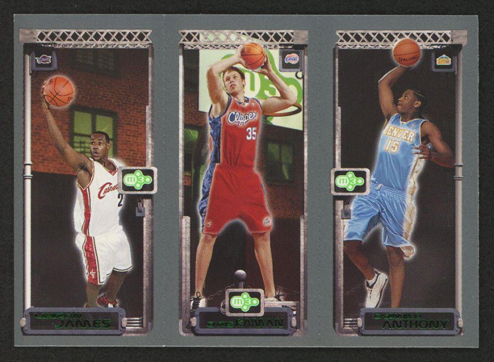 2003 04 Topps Rookie Matrix Jka Lebron James 111 Rc