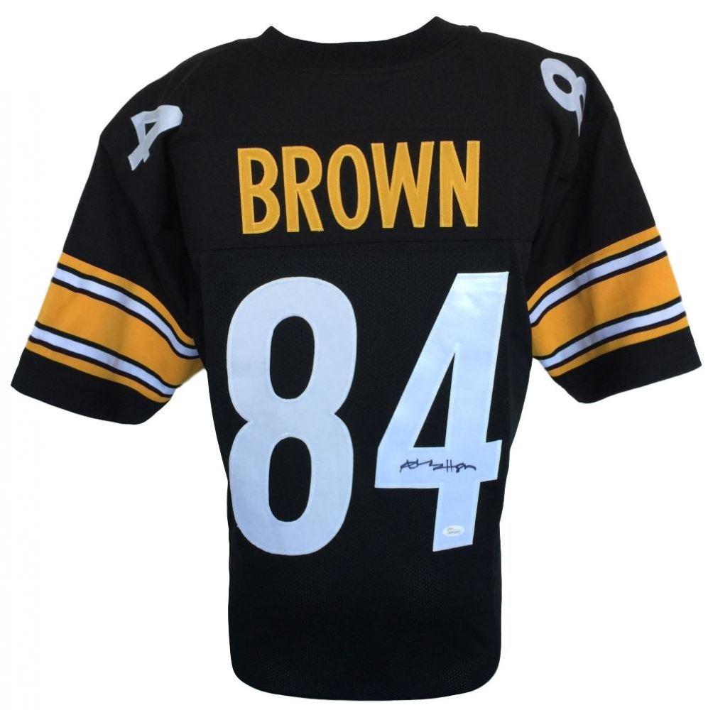 buy popular 4e8d8 b7ac1 Antonio Brown Signed Steelers Jersey (JSA COA)