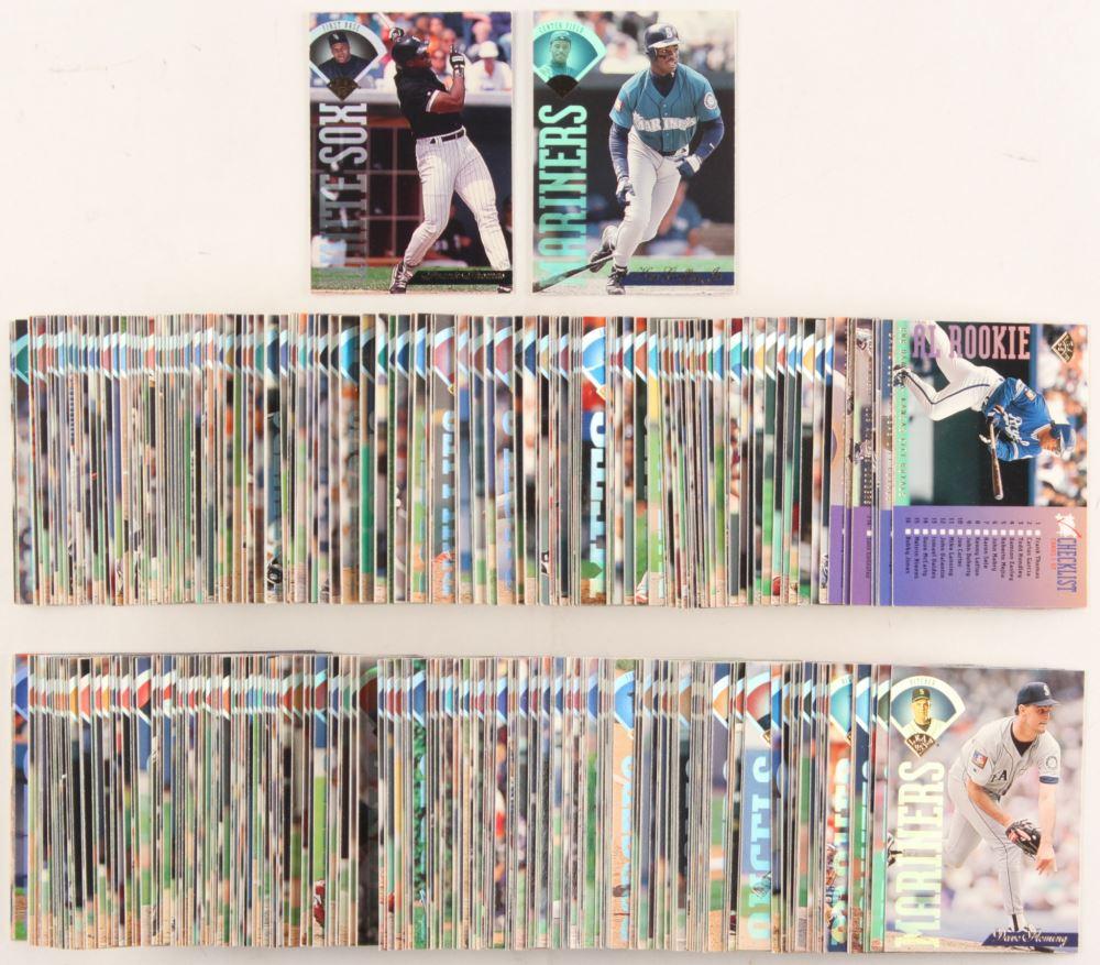 Set Of 400 1995 Leaf Baseball Cards With 211 Ken Griffey Jr 1