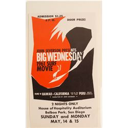 Big Wednesday Surf Movie Poster