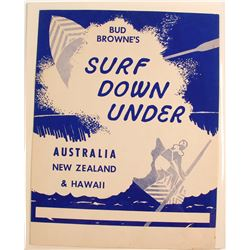 Surf Down Under Movie Poster