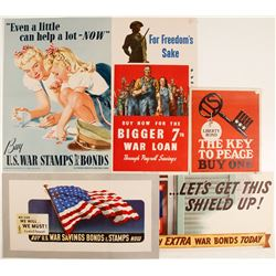 WWII War Bond Posters