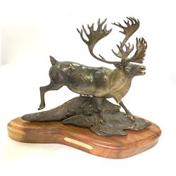 """Caribou"" Bronze by Entsminger"