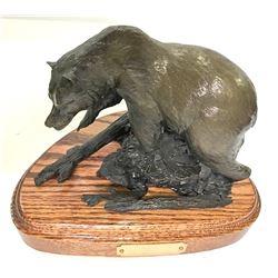 """""""Griz"""" Bronze by William Davis"""