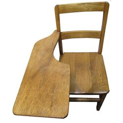 Classic Antique Oak School Desk