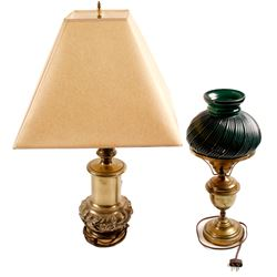 Lamps (2 Vintage Brass)