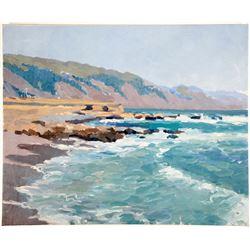 Laverne Lane Oil Painting