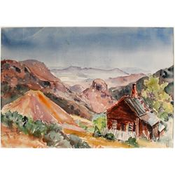 Watercolor by Mildred Lane (Signed)