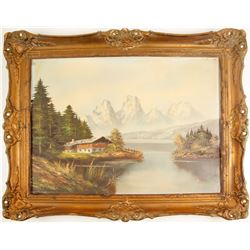 Die Alpen ( A painting of The Alps )