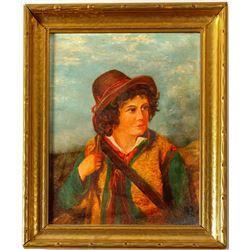 Portrait of Young Woman, Josef Buche