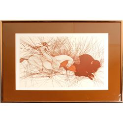 """La Bete"" by Guillaume Azoulay - Artist's Signed Proof Print"