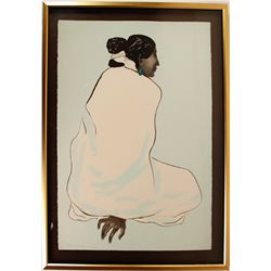 "Lithograph ""Zonnie"" by R.C. Gorma, Artist Proof"