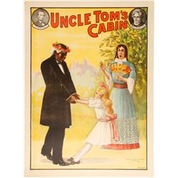 Lithograph of Uncle Tom's Cabin