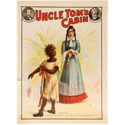 Lithograph of Uncle Tom's Cabin (Topsy)