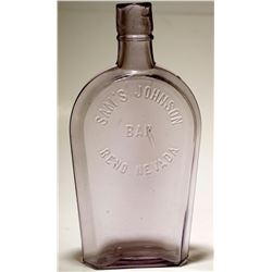 Rare Coffin Flask / Sam's Johnson
