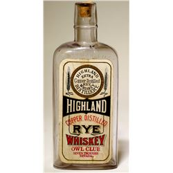 Rare/ Seven Troughs Whiskey / Highland Rye