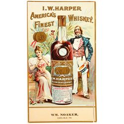 Whiskey Label (I.W. Harper)