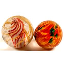 Large Onion Skin & Solid Core Swirl ( 2 Items )