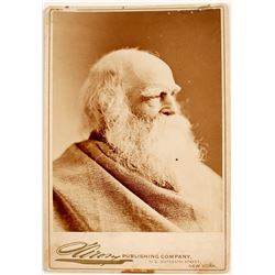 Professional Photo of William Cullen Bryant, American Poet & Writer