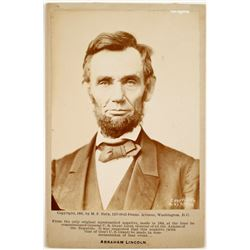 Mounted Photo of Abraham Lincoln