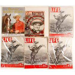 Gene Autry's Singing Cowboys Sheet Music