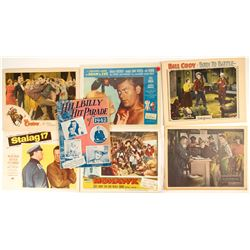 Lobby Cards from Movies & 1 Book of Sheet Music