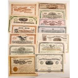 Colorado Mining Stock Collection