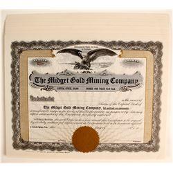 Midget Gold Mining Stocks