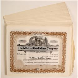 Mildred Gold Mines Stocks